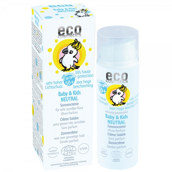 eco cosmetics Baby & Kids Sonnencreme 50+, neutral