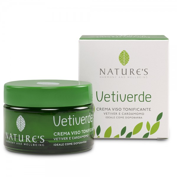 Nature's Vetiverde Toning Face Cream
