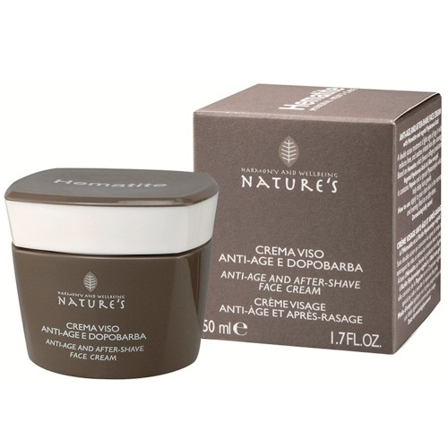 Nature's Hematite Mens Mineral Care Antiaging Face Cream & Aftershave