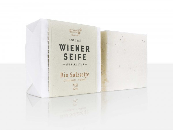 Wiener Seife Bio Salzseife N° 01, handgemacht