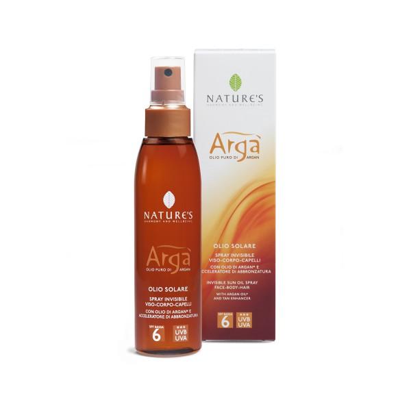 Nature's Argà Sun Oilspray SPF 6