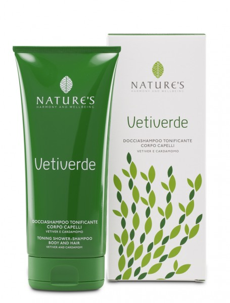 Nature's Vetiverde Toning Shower&Shampoo