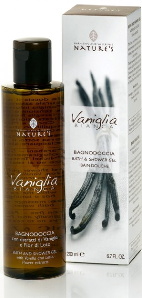Nature's Vaniglia Bianca Bath & Shower Gel