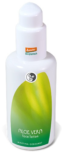 Martina Gebhardt Aloe Vera Face Lotion