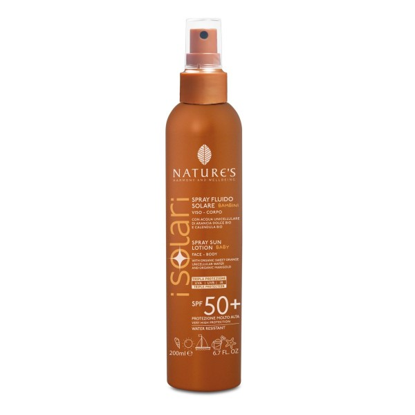 Nature's Sun Spray Lotion BABY SPF 50+, Face & Body