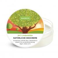 Nadeos Natürliche Deocreme Lindenblüte