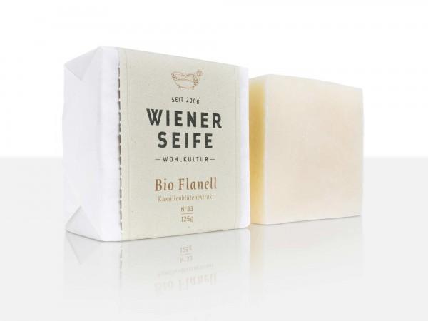 Wiener Seife Bio Flanell N° 33, handgemacht