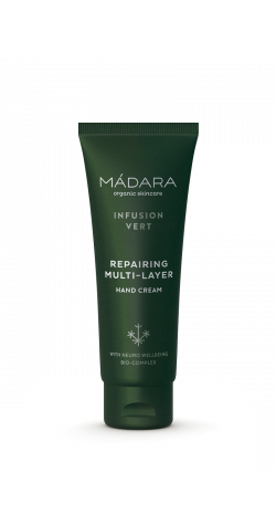 MÁDARA Infusion Vert Repairing Multilayer Handcream