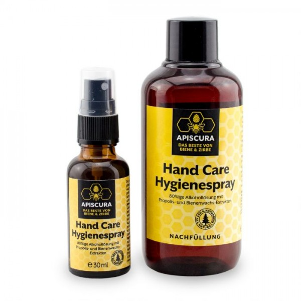 Apiscura Handcare Hygienespray Set