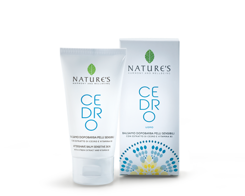 Nature's Cedro Uomo Aftershave Balm Sensitive Skin