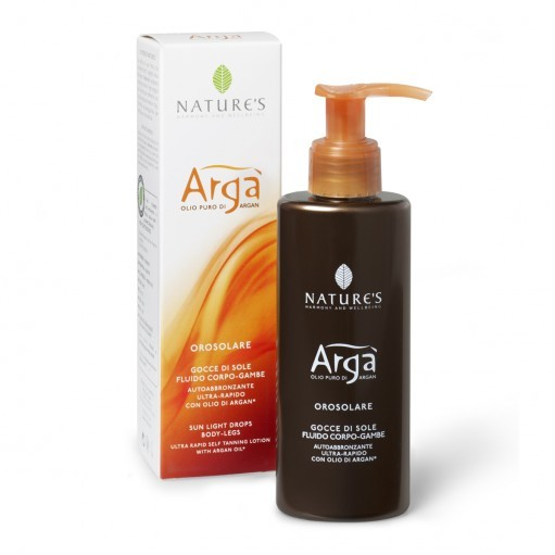 Nature's Arga Sunlight Drops Selftanning Lotion- Body Legs