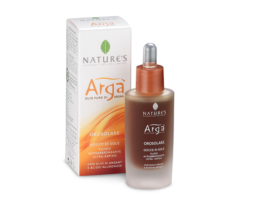 Nature's Arga Sunlight Drops Self Tanning Lotion