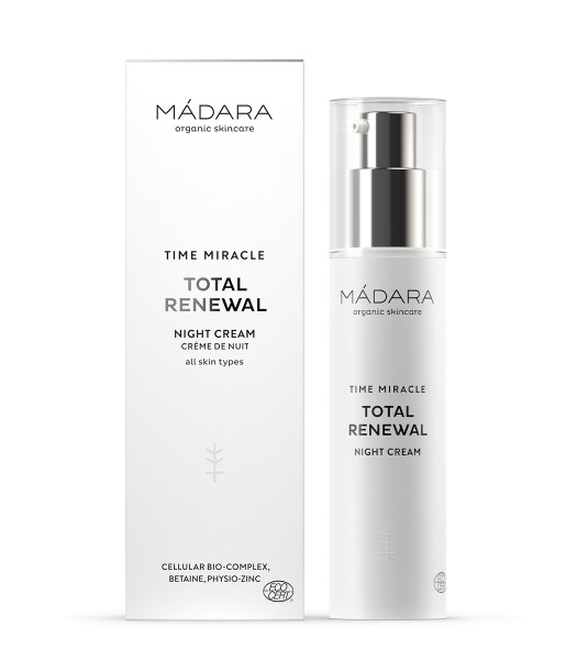 MÁDARA Time Miracle Total Renewal Nightcream