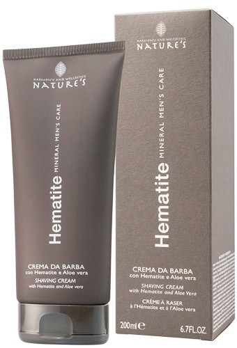 Nature's Hematite Mens Mineral Care Shaving Cream