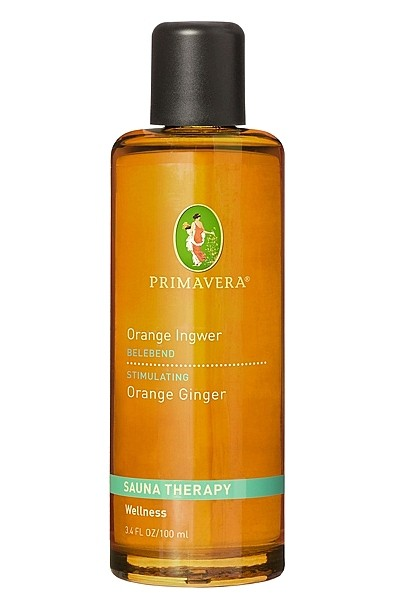 Primavera Saunaaufguss Orange Ingwer