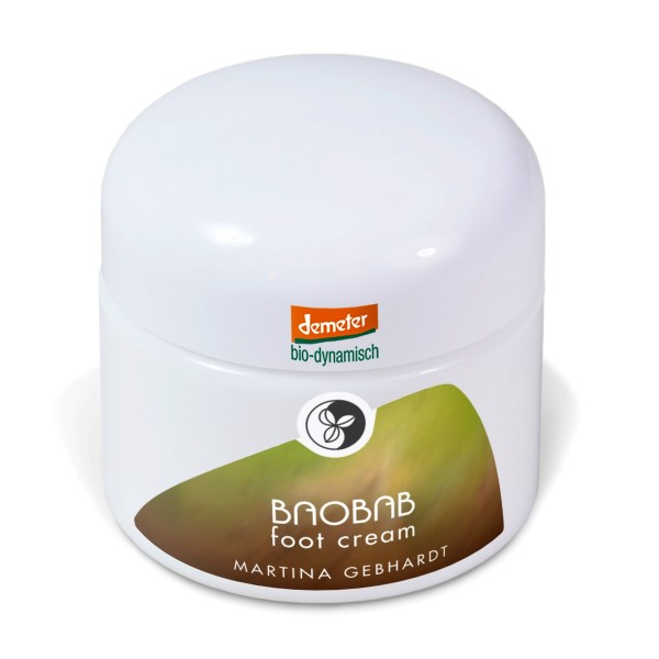 Martina Gebhardt Baobab Foot Cream