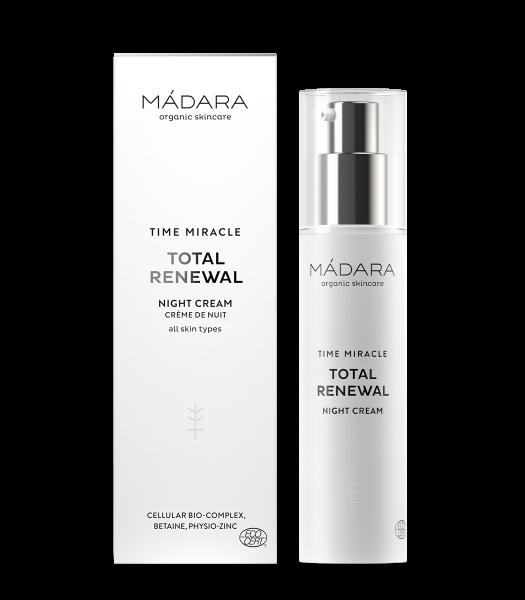 Madara Time Miracle Total Renewal Nightcream