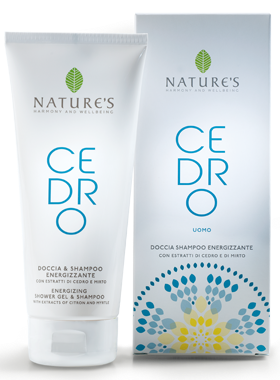 Nature's Cedro Uomo Shower Gel & Shampoo
