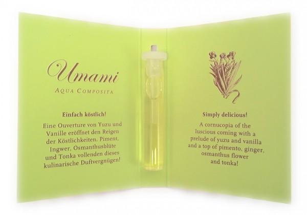 Florascent Eau de Toilette Umami - Aqua Composita Duftprobe