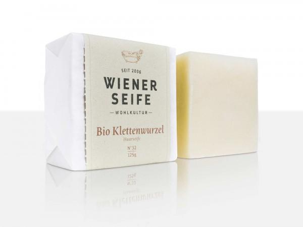 Wiener Seife Bio Klettenwurzel Haarseife N° 32, handgemacht