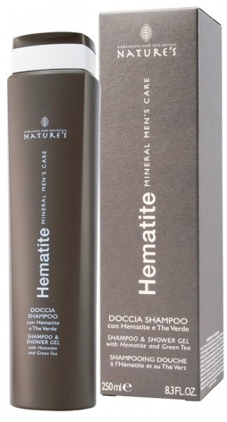 Nature's Hematite Mens Mineral Care Shampoo & Shower Gel