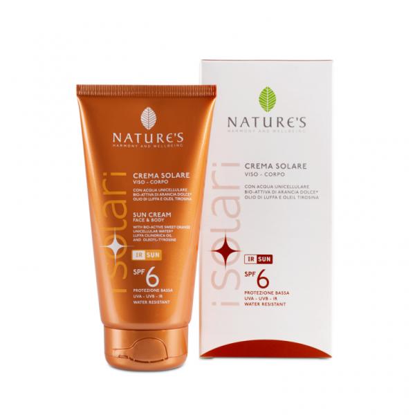 Nature's Sun Cream Face & Body SPF 6