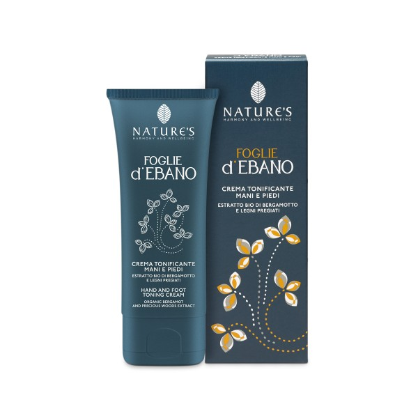Nature's Foglie d'Ebano Hand & Foot Toning Cream