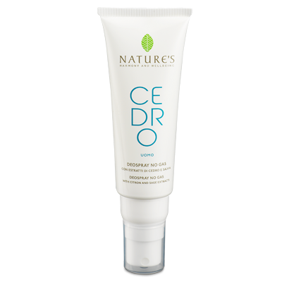 Nature's Cedro Uomo DeoSpray