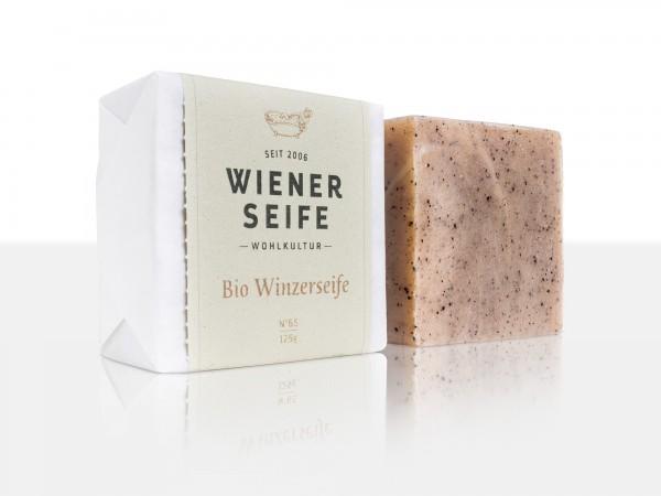 Wiener Seife Bio Winzerseife N° 65, handgemacht