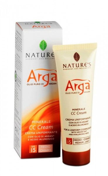 Nature's Argà CC Cream Medium Light SPF15