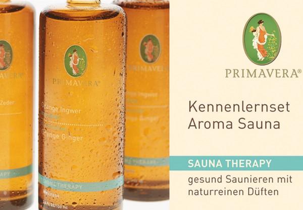 Primavera Kennenlernset Aroma Sauna