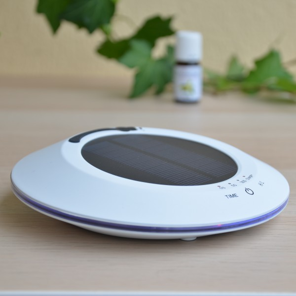 Zen Arome SOLWHEEL - SOLAR Aroma Diffuser White