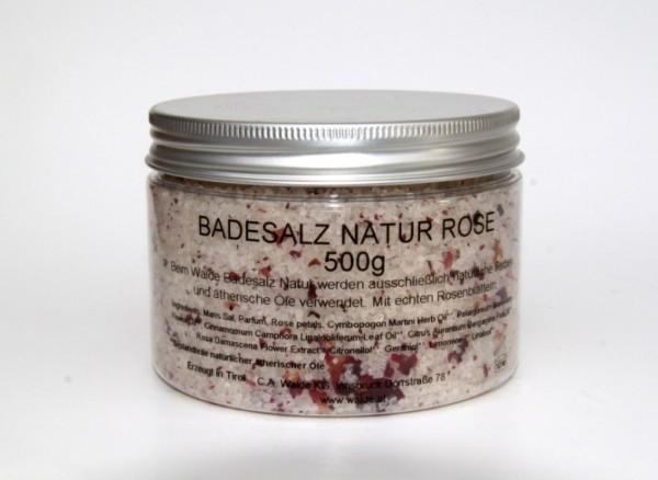 Walde Badesalz Natur Rose