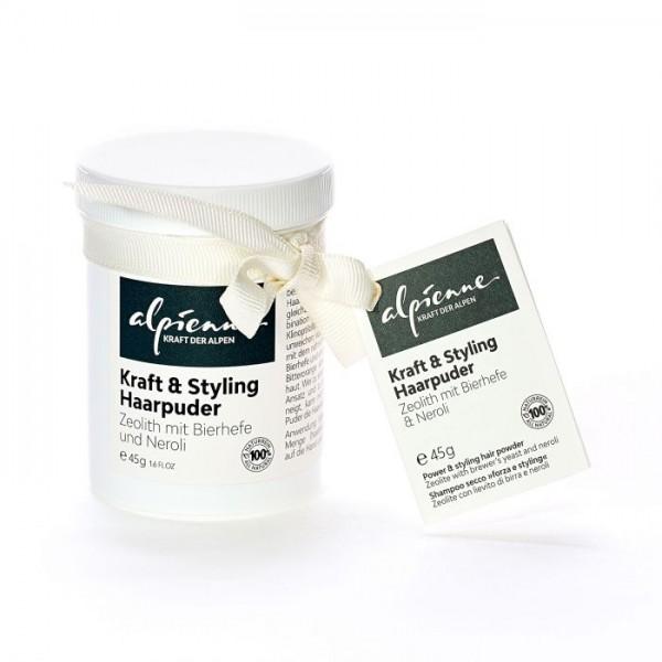 Alpienne Kraft und Styling Haarpuder - Zeolith