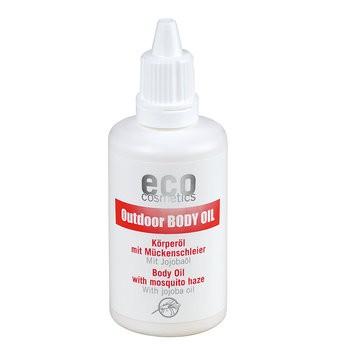 """eco Cosmetics Körperöl Outdoor mit """"Mückenschleier"""""""