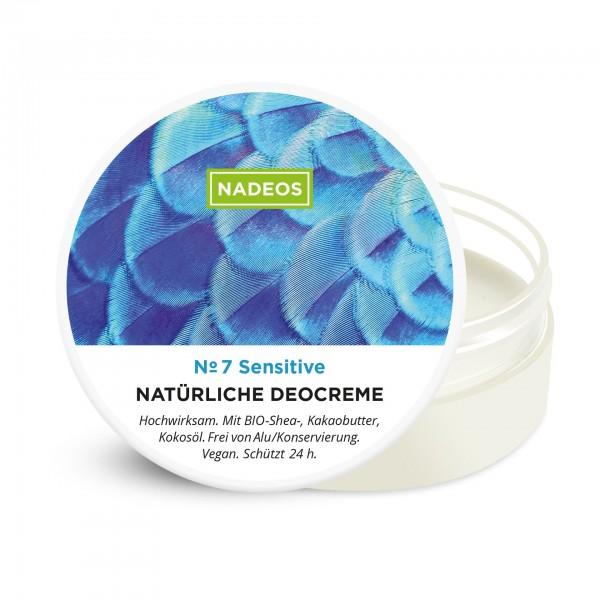 Nadeos Natürliche Deocreme Sensitive