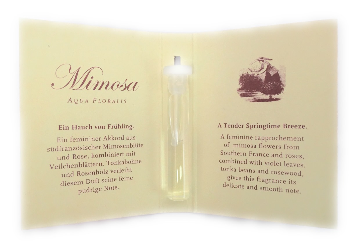 Mimosa Duftprobe 0,5ml