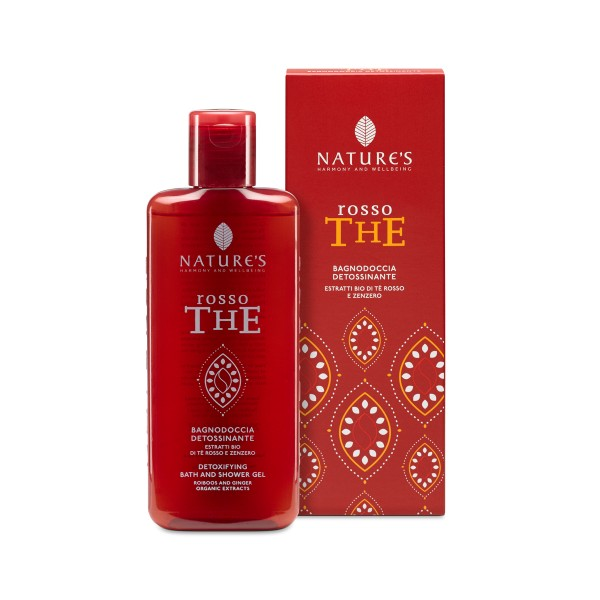 Nature's Rosso The Detoxifying Bath and Shower Gel