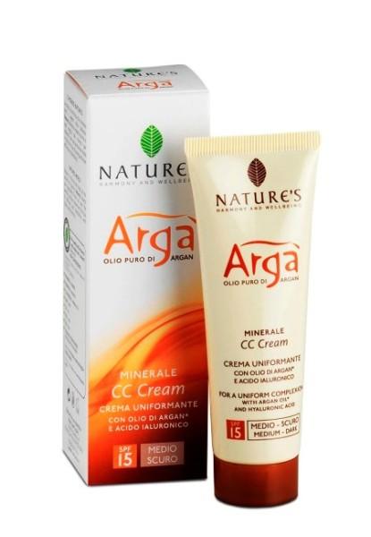 Nature's Arga CC Cream Medium Dark SPF15