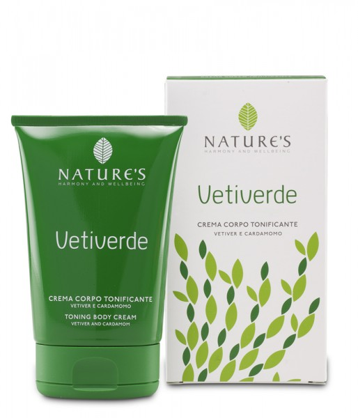 Nature's Vetiverde Toning Bodycream