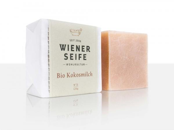 Wiener Seife Bio Kokosmilch N° 31, handgemacht