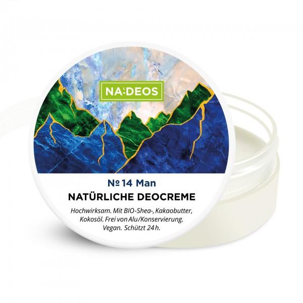 Nadeos Natürliche Deocreme Man