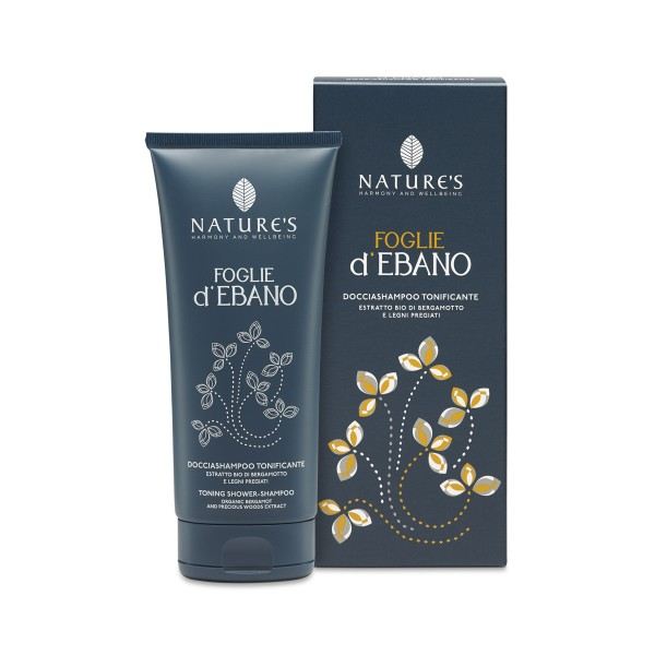 Nature's Foglie d'Ebano Shower Shampoo