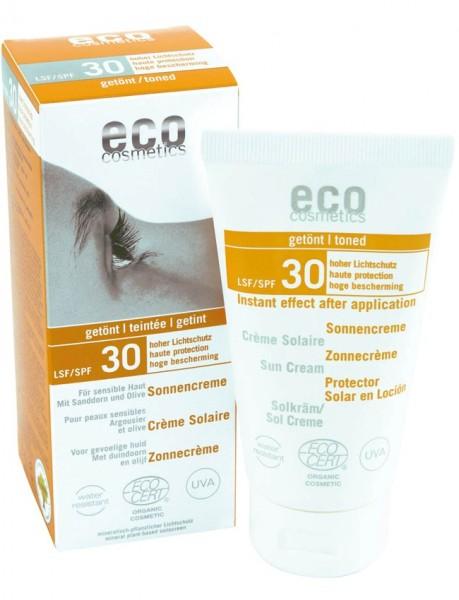 eco cosmetics Sonnencreme LSF 30 getönt